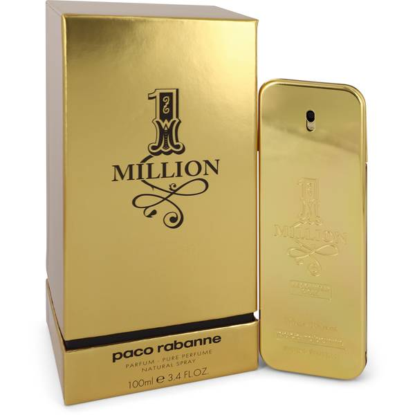 1 million absolutely gold cologne for men by paco rabanne. Black Bedroom Furniture Sets. Home Design Ideas