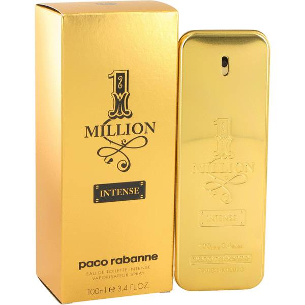 1 million intense cologne for men by paco rabanne for Paco rabanne cologne