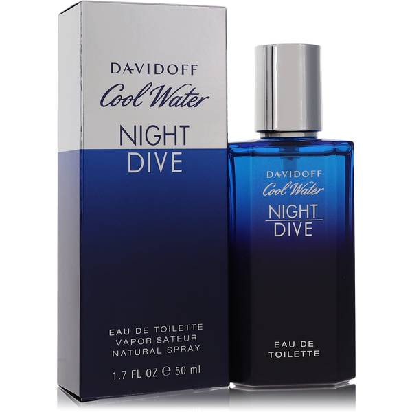 Cool water night dive cologne for men by davidoff - Davidoff night dive ...