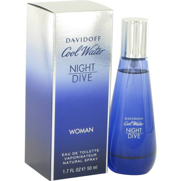 Cool water night dive perfume for women by davidoff - Davidoff night dive ...