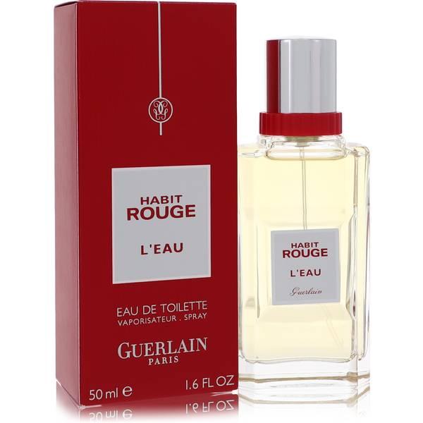 habit rouge l 39 eau cologne for men by guerlain. Black Bedroom Furniture Sets. Home Design Ideas