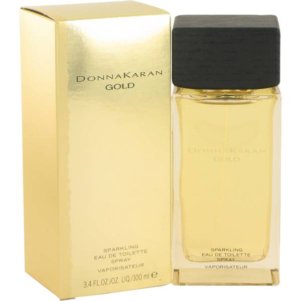 Donna karan gold sparkling perfume for women by donna karan Donna karan parfume