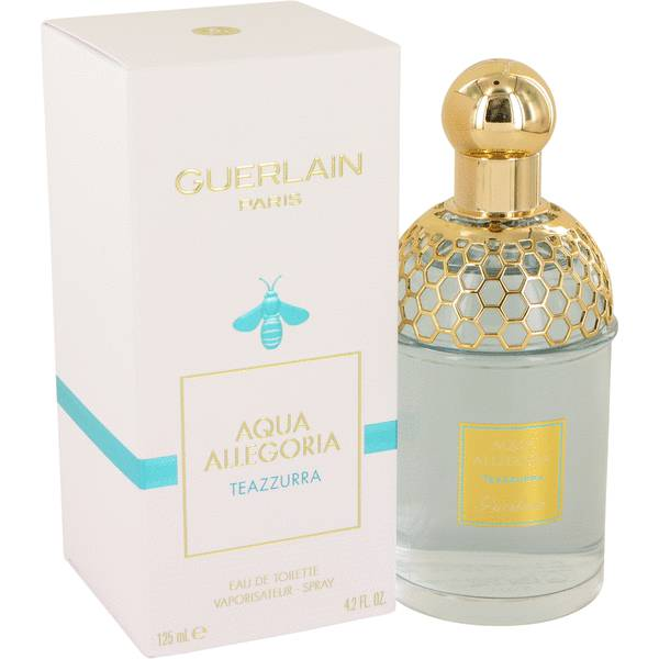 aqua allegoria teazzurra perfume for women by guerlain. Black Bedroom Furniture Sets. Home Design Ideas