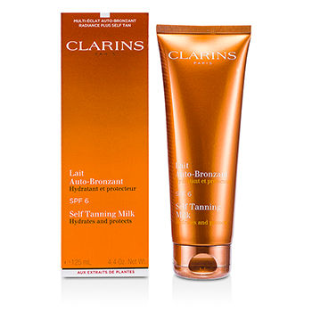 Clarins Self Tanning Milk SPF 6