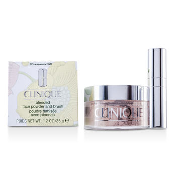 Clinique Blended Face Powder + Brush - No. 02...