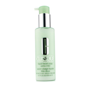 Clinique Skincare 6.7 oz Liquid Facial Soap Extra-Mild