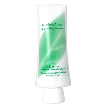 Elizabeth Arden Skincare 4.2 oz Green Tea Skincare Purifying 3 in 1 ( Cleanser/ Toner/ Exfoliant )