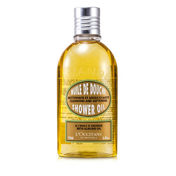 L'Occitane Skincare 8.4 oz Almond Cleansing & Soothing Shower Oil