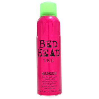 Tigi Skincare 5.3 oz Bed Head Headrush - Shine Adrenaline with a Superfine Mist
