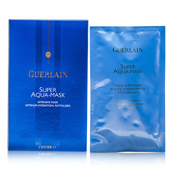 Guerlain Skincare 6pcs Super Aqua-Mask (Sheet Mask)