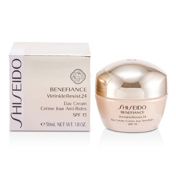 Shiseido Skincare 1.8 oz Benefiance WrinkleResist24 Day Cream SPF 15