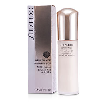 Shiseido Skincare 2.5 oz Benefiance WrinkleResist24 Night Emulsion