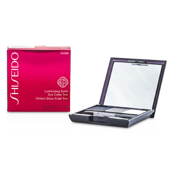 Shiseido Make Up 0.1 oz Luminizing Satin Eye Color Trio - # GY901 Snow Shadow