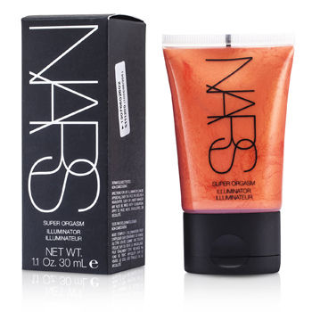 NARS Make Up 1.1 oz Illuminator - Super Orgasm (Peachy pink with gold glitter)