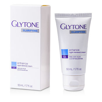Glytone Clarifying Enhance Night Renewal Crea...