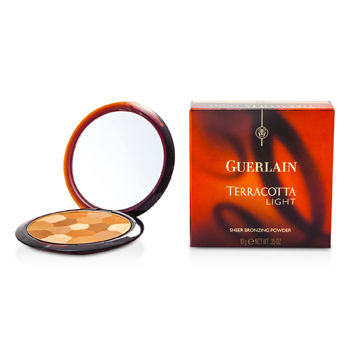 Guerlain Make Up 0.35 oz Terracotta Light Sheer Bronzing Powder - No. 03 Brunettes  (New Packaging)