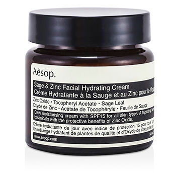 Aesop Sage & Zinc Facial Hydrating Cream SPF1...