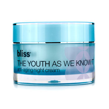 Bliss Skincare 1.7 oz The Youth As We Know It Anti-Aging Night Cream