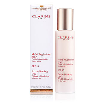 Clarins Skincare 1.7 oz Extra-Firming Day Wrinkle Lifting Lotion SPF 15 (All Skin Types)