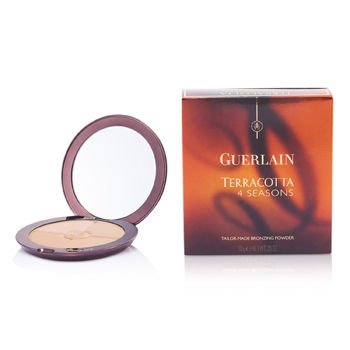 Guerlain Make Up 0.35 oz Terracotta 4 Seasons Tailor Made Bronzing Powder - # 02 Naturel - Blondes