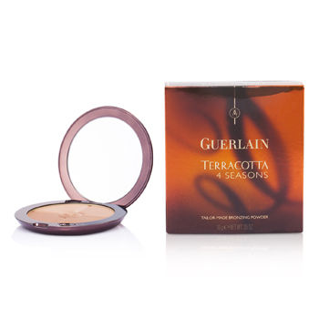 Guerlain Make Up 0.35 oz Terracotta 4 Seasons Tailor Made Bronzing Powder - # 04 Moyen - Blondes