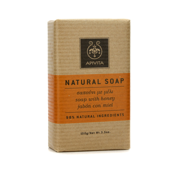 Apivita Natural Soap with Honey (Ideal For Al...