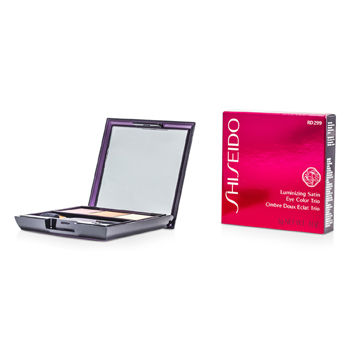 Shiseido Make Up 0.1 oz Luminizing Satin Eye Color Trio - # RD299 Beach Grass