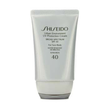 Shiseido Skincare 1.9 oz Urban Environment UV Protection Cream SPF 40 (For Face & Body)