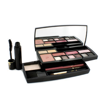 Lancome Make Up - Absolu Voyage Complete Makeup kit (1x Powder, 1x Blush, 2x Concealer, 6x EyeShadow....)