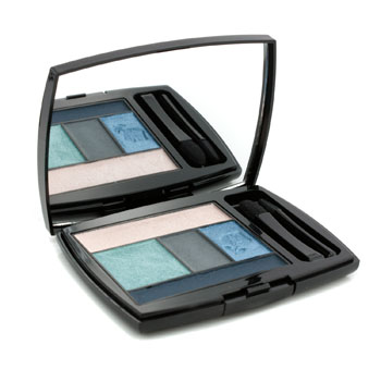 Lancome Make Up 0.14 oz Color Design 5 Shadow & Liner Palette - # 400 Teal Fury (US Version)