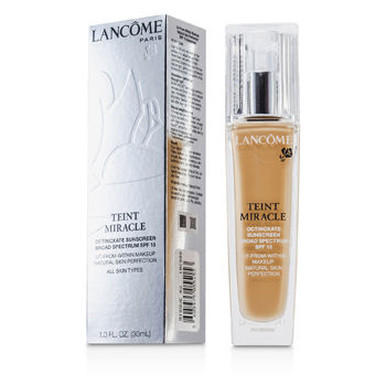 Lancome Make Up 1 oz Teint Miracle Natural Skin Perfection SPF 15 - # Bisque 4W (US Version)