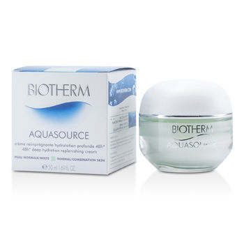 Biotherm Skincare 1.69 oz Aquasource 48H Deep Hydration Replenishing Cream (Normal/Combination Skin)