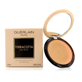 Guerlain Make Up 0.35 oz Terracotta Joli Teint Natural Healthy Glow Powder Duo - # 01 Clair/Light Brunettes