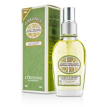 L'Occitane Skincare 3.4 oz Almond Supple Skin Oil - Smoothing & Beautifying