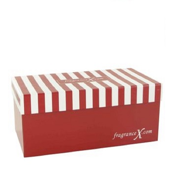 Gift Box FragranceX Two Piece Maroon and Whit...