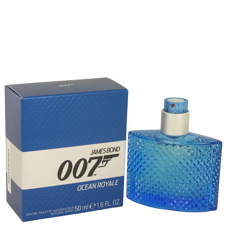 007 Ocean Royale by James Bond for Men Eau De Toilette Spray 1.6 oz