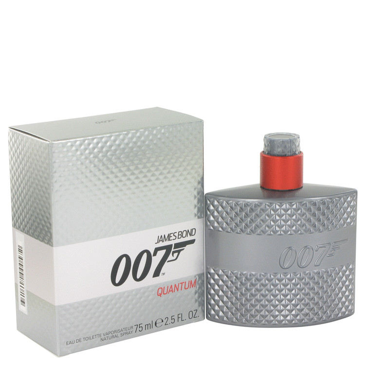 007 Quantum by James Bond for Men Eau De Toilette Spray 2.5 oz
