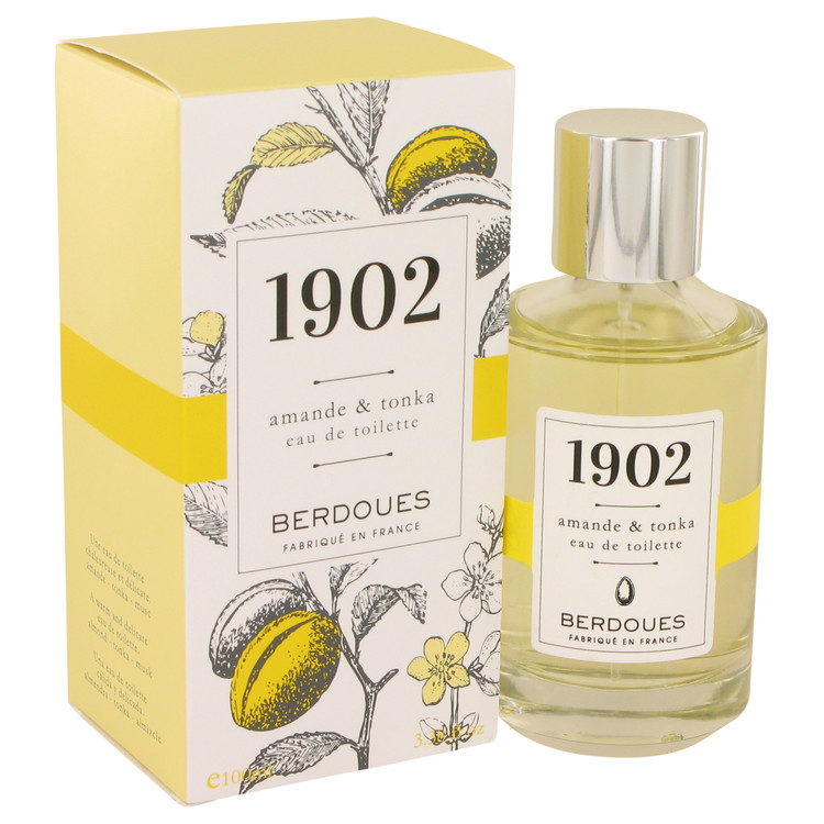 1902 Amande & Tonka by Berdoues Women's Eau De Toilette Spray 3.38 oz