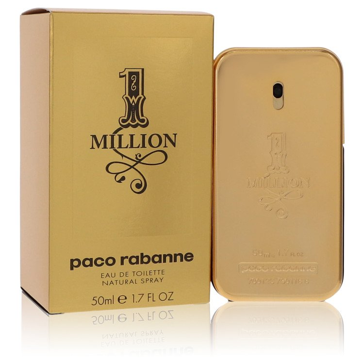 1 Million by Paco Rabanne for Men Eau De Toilette Spray 1.7 oz