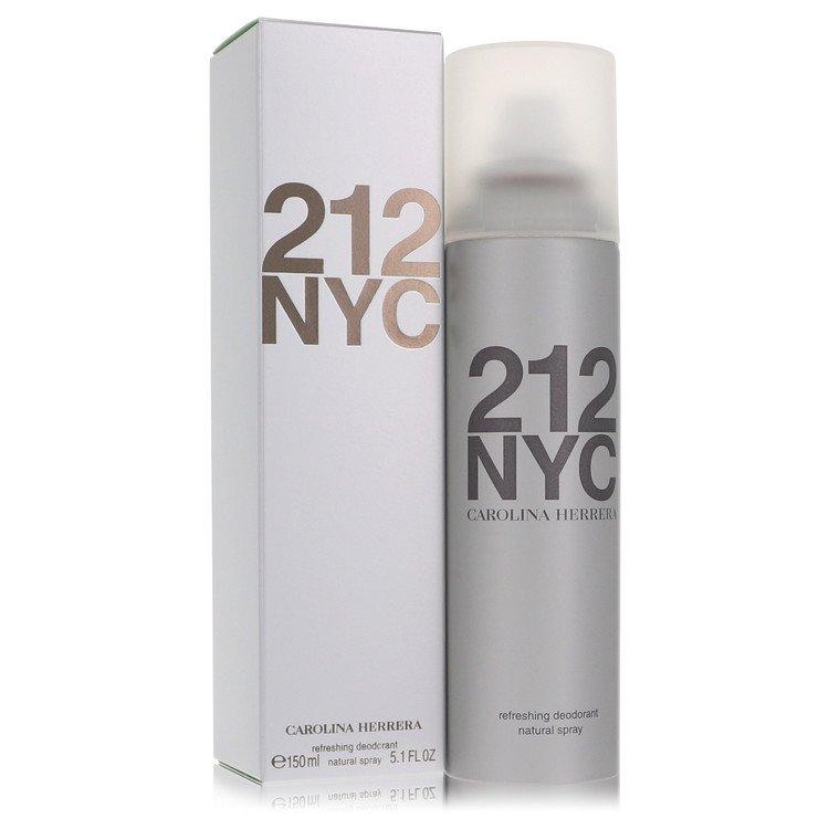 212 by Carolina Herrera for Women Deodorant Spray 5.1 oz