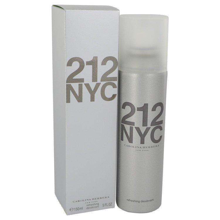 212 by Carolina Herrera for Women Deodorant Spray (Can) 5 oz