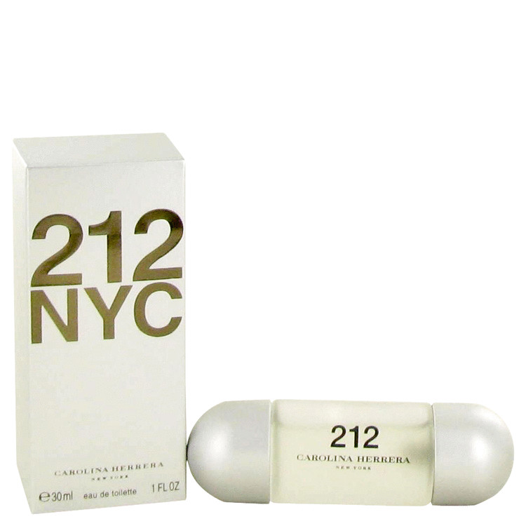 212 by Carolina Herrera Women's Eau De Toilette Spray (New Packaging) 1 oz