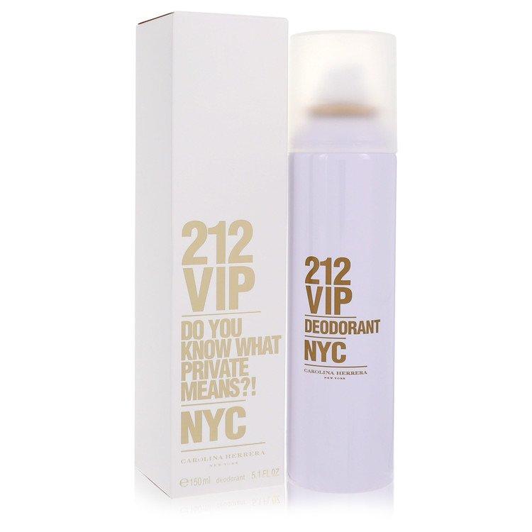 212 Vip by Carolina Herrera for Women Deodorant Spray 5 oz