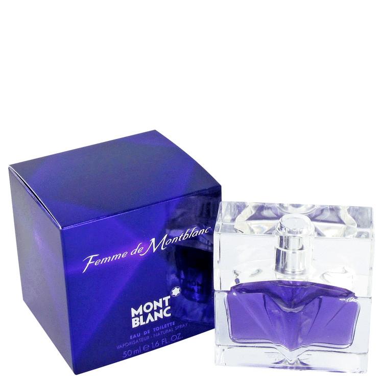 Femme De Mont Blanc by Mont Blanc Women's Eau De Toilette Spray 1 oz
