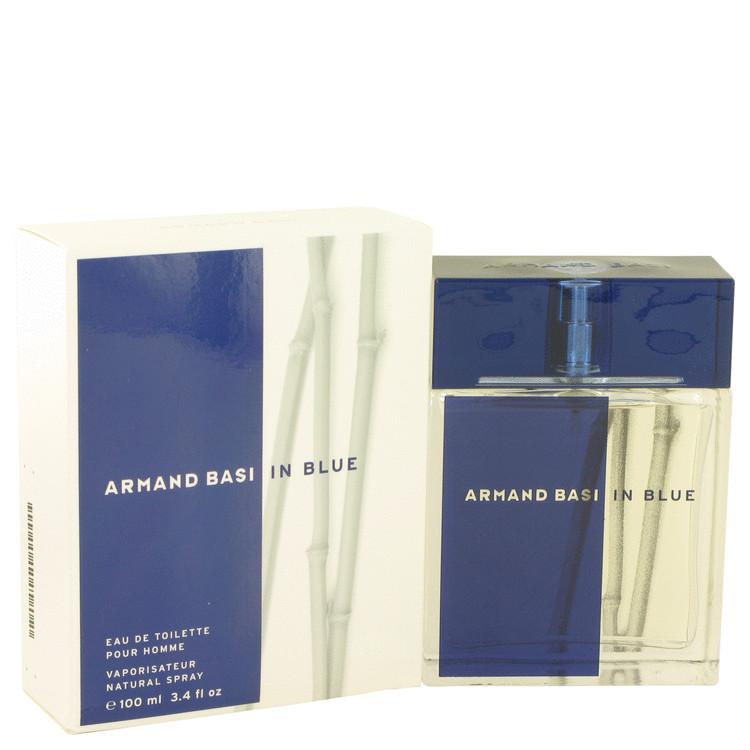 Armand Basi In Blue by Armand Basi Men's Eau De Toilette Spray 3.4 oz