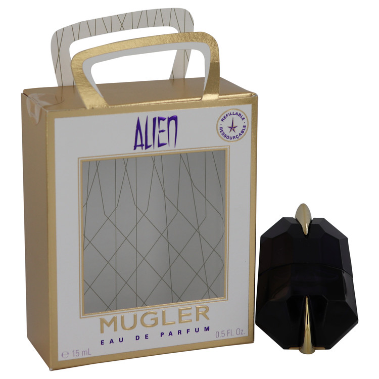 Alien by Thierry Mugler Women's Eau De Parfum Spray Refillable 0.5 oz