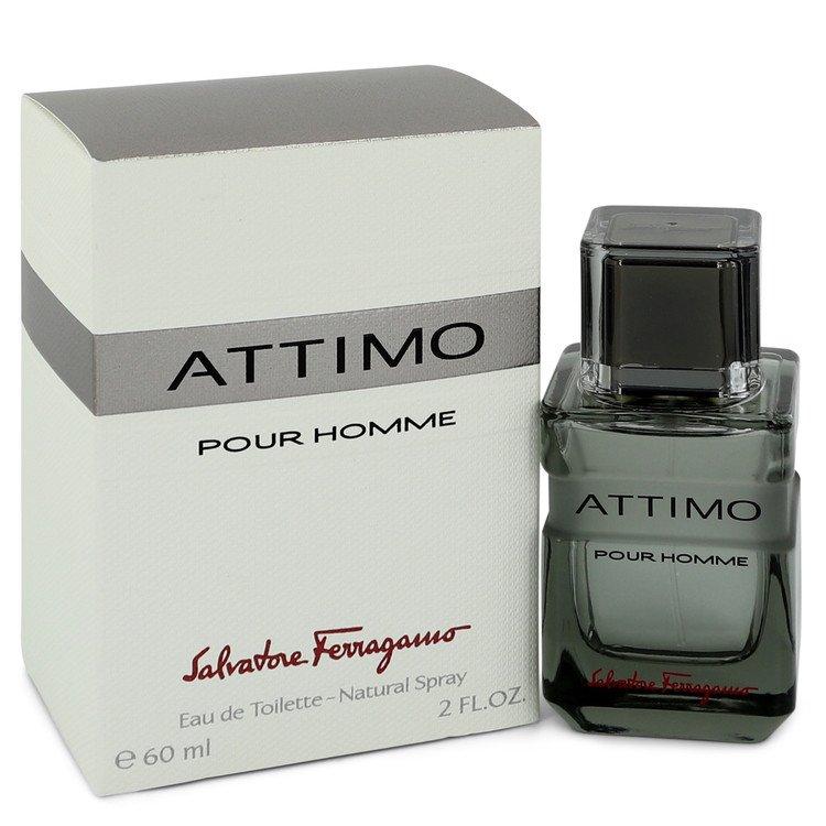 Attimo by Salvatore Ferragamo Men's Eau De Toilette Spray 2 oz