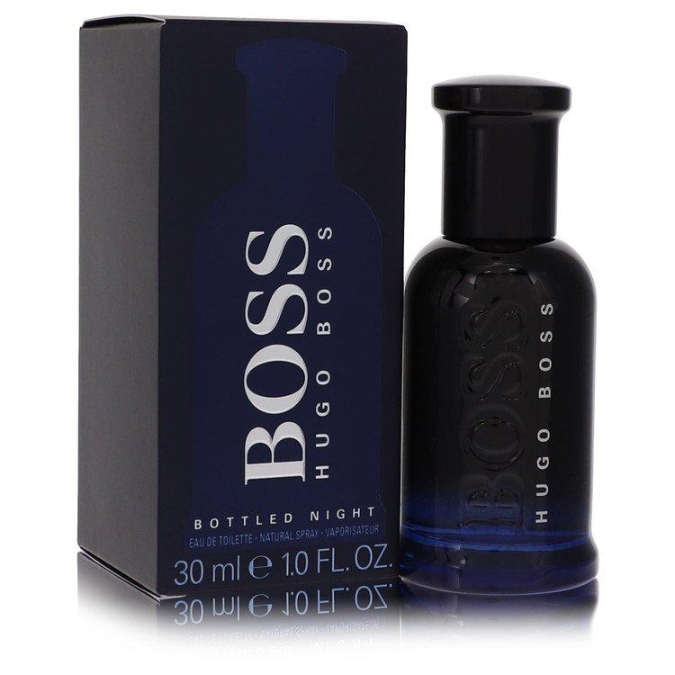 Boss Bottled Night by Hugo Boss for Men Eau De Toilette Spray 1 oz
