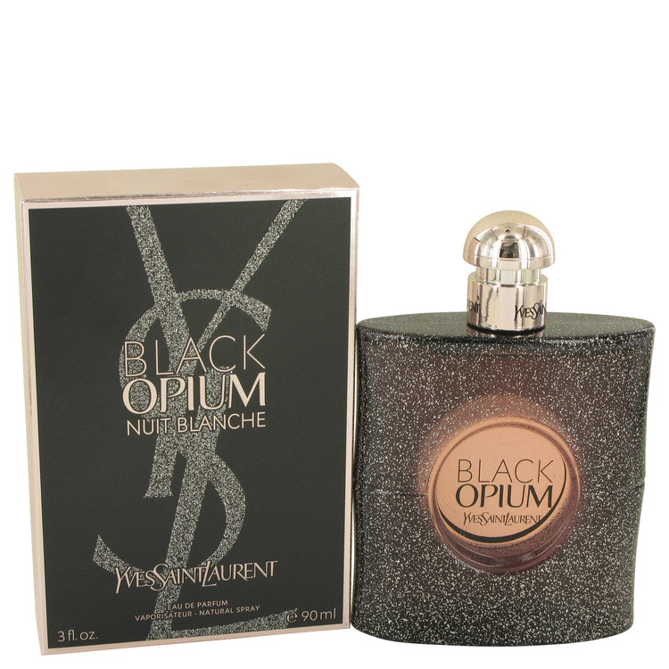 Black Opium Nuit Blanche by Yves Saint Laurent Women's Eau De Parfum Spray 3 oz
