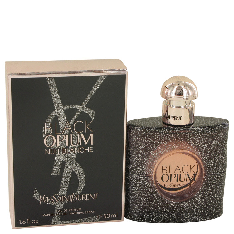 Black Opium Nuit Blanche by Yves Saint Laurent Women's Eau De Parfum Spray 1.7 oz